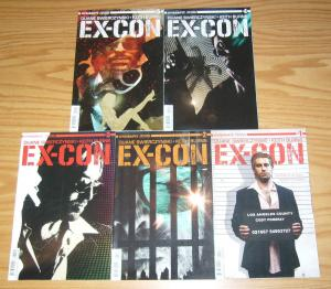 Ex-Con #1-5 VF/NM complete series - tim bradstreet covers  dynamite comics 2 3 4