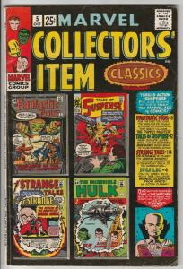 Marvel Collectors' Item #5 (Oct-66) FN- Mid-Grade Fantastic Four, Mr. Fantast...