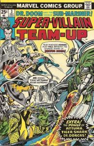 Super-Villain Team-Up #3 VF; Marvel   save on shipping - details inside