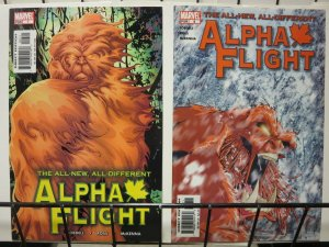 ALPHA FLIGHT (2004) 7-8  Waxing Poetic 2-part story
