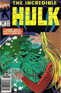 Incredible Hulk, The #382 (Newsstand) VG; Marvel | low grade comic - save on shi