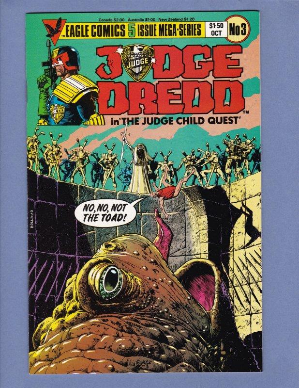 Judge Dredd The Judge Child Quest #1 #2 #3 #4 #5 Complete Series Lot