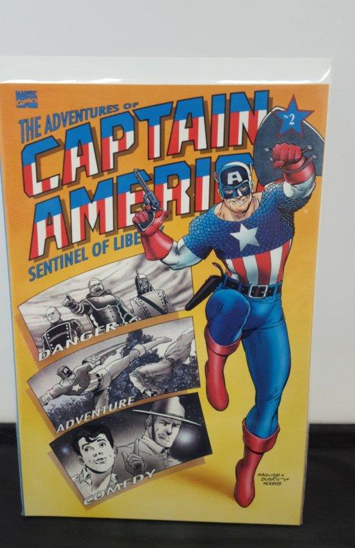 Adventures of Captain America #2 (1991)