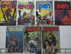 RICHARD CORBEN GRAB-BAG! 7 BOOKS!  Den! Rip in Time! Ragemoor! Fine or better!
