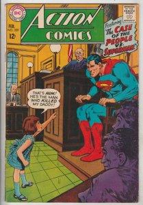 Action Comics #359 (Feb-68) FN/Vf+ High-Grade Superman