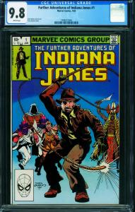 Further Adventures of Indiana Jones #1 CGC 9.8 1983 1998431004