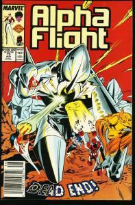 ALPHA FLIGHT #73-MARVEL COMICS-MUTANTS!-JIM LEE NM