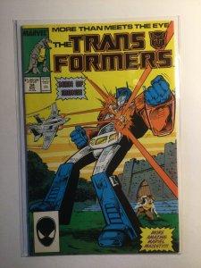 Transformers 34 Near mint- nm- 9.2 Marvel