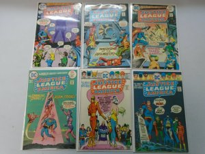 Bronze Age Justice League lot 12 different 25c covers avg 6.0 FN (1975-76)