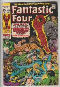 Fantastic Four #100 (Jul-70) FN+ Mid-High-Grade Fantastic Four, Mr. Fantastic...