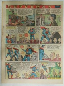 Superman Sunday Page #901 by Wayne Boring from 2/3/1957 Size ~11 x 15 inches