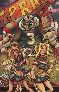 Hack/Slash Meets Zombies vs. Cheerleaders #1D VF/NM; Moonstone | save on shippin