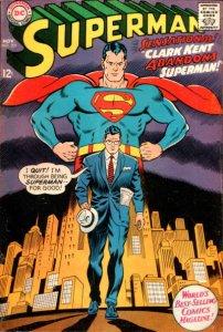 Superman #201 (ungraded) stock photo ID#B-10 / 001