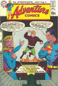 Adventure Comics (1938 series) #384, Good+ (Stock photo)