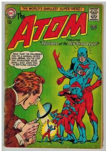 ATOM 11 G (Spine split)  March 1964 Fox/ Kane/ Anderson COMICS BOOK