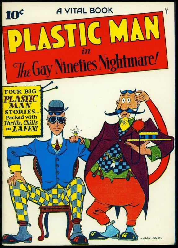 Plastic Man #1 reprint Gay Nineties Nightmare Jack Cole Golden Age FN