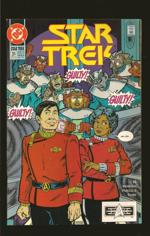 DC Comics Star Trek #31 (1992)