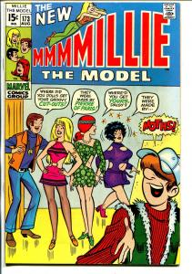 Millie The Model #173 1969-Chili-Daisy-fashion page-VF-