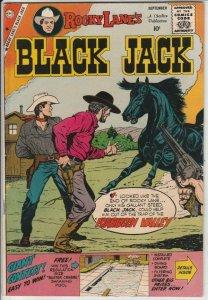 Black Jack  # 29  strict  NM-   appearance  Rocky Lane!