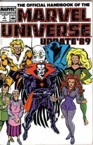 Official Handbook of the Marvel Universe (1989 series) #5, VF+ (Stock photo)