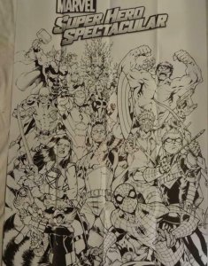 SUPER HERO SPECTACULAR Promo Poster, 24 x 36, 2015, DC, SPIDER-MAN, HULK Unused