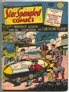 Star Spangled Comics #31 1944- Newsboy Legion- Liberty Belle restored