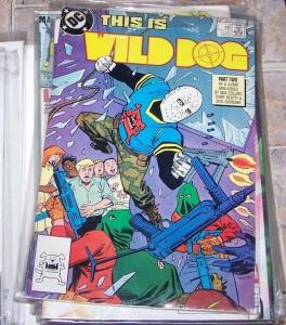 wild Dog comic  #2 (Oct 1987, DC) ON TV,S ARROW SHOW HOT