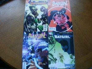 4 Near-Mint DC Comic: BATGIRL #32 #70 Dixon (2002 2006) & #41 #42 (2015) Stewart