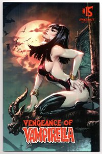 Vengeance of Vampirella #15 Cover C Segovia (Dynamite, 2021) VF [ITC574]