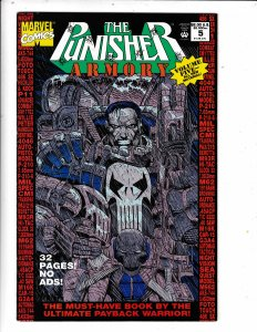 The Punisher Armory #5 (1993) MARVEL COMICS