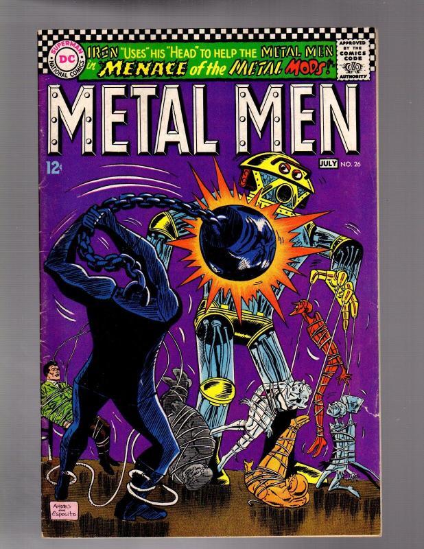 METAL MEN 26 FINE July 1967
