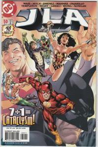 6 JLA DC Comic Books # 50 51 52 53 54 55 Superman Batman Wonder Woman Flash LH22