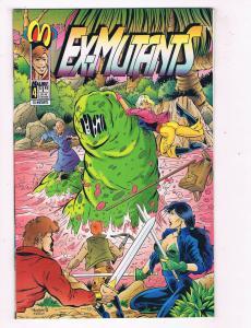 Ex Mutants #4 VF Malibu Comics Comic Book Mason Feb 1993 DE41 AD18