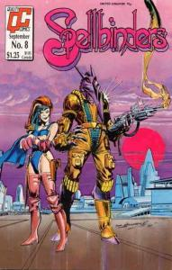 Spellbinders (Fleetway/Quality) #8 VF; Fleetway Quality | save on shipping - det