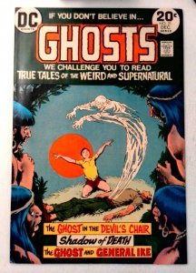 Ghosts #21 DC 1973 FN/VF Bronze Age Comic Book 1st Print