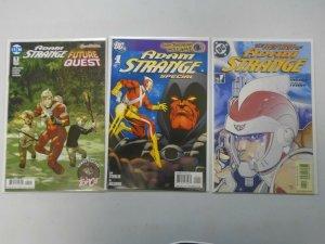 Adam Strange lot 3 different issues avg 8.0 VF