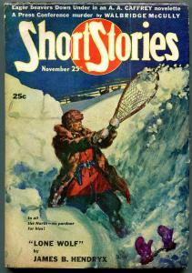 Short Stories Pulp November 25 1946- John D MacDonald- Lone Wolf VG/F