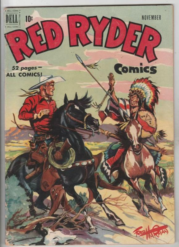 Red Ryder Comics #82 (May-50) FN/VF+ High-Grade Red Ryder