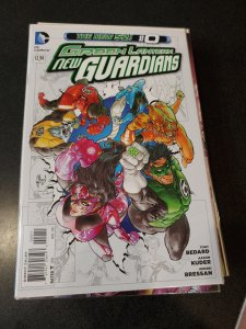 Green Lantern: New Guardians #0 (2012)