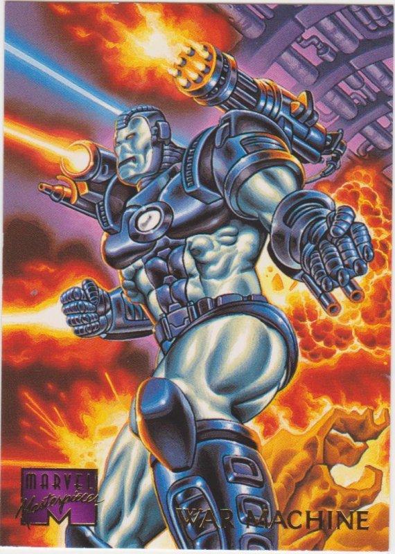 1995 Marvel Masterpieces #111 War Machine