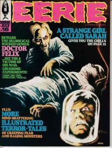 EERIE MAGAZINE #16 (1968) WARREN NEAR MINT MINUS (9.2) ROCKWELL COVER