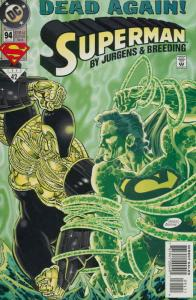 Superman (2nd Series) #94 VF/NM; DC | save on shipping - details inside