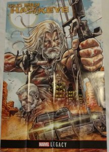 OLD MAN HAWKEYE Promo Poster, 24 x 36, 2017, MARVEL Unused more in our store 153