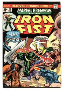MARVEL PREMIERE #17 comic book -Third Iron Fist Marvel