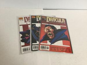 Dracula Lord Of The Undead 1-3 Lot Set Run Nm Near Mint