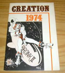 Creation Program Guide 1974 FN howard chaykin - bernie wrightson - brunner PCR