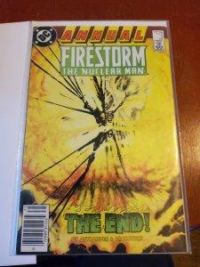 Firestorm Annual #5 (1987)