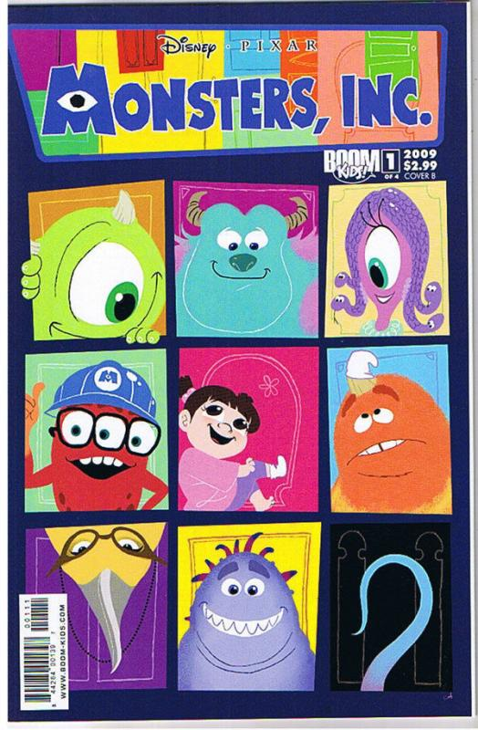 MONSTERS INC #1 B, NM, Laugh Factory, Disney, 2009, Pixar, more in store