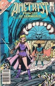 Amethyst, Princess of Gemworld #11 (Newsstand) FN; DC   save on shipping - detai