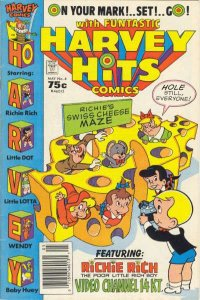 Harvey Hits Comics #4, Fine- (Stock photo)